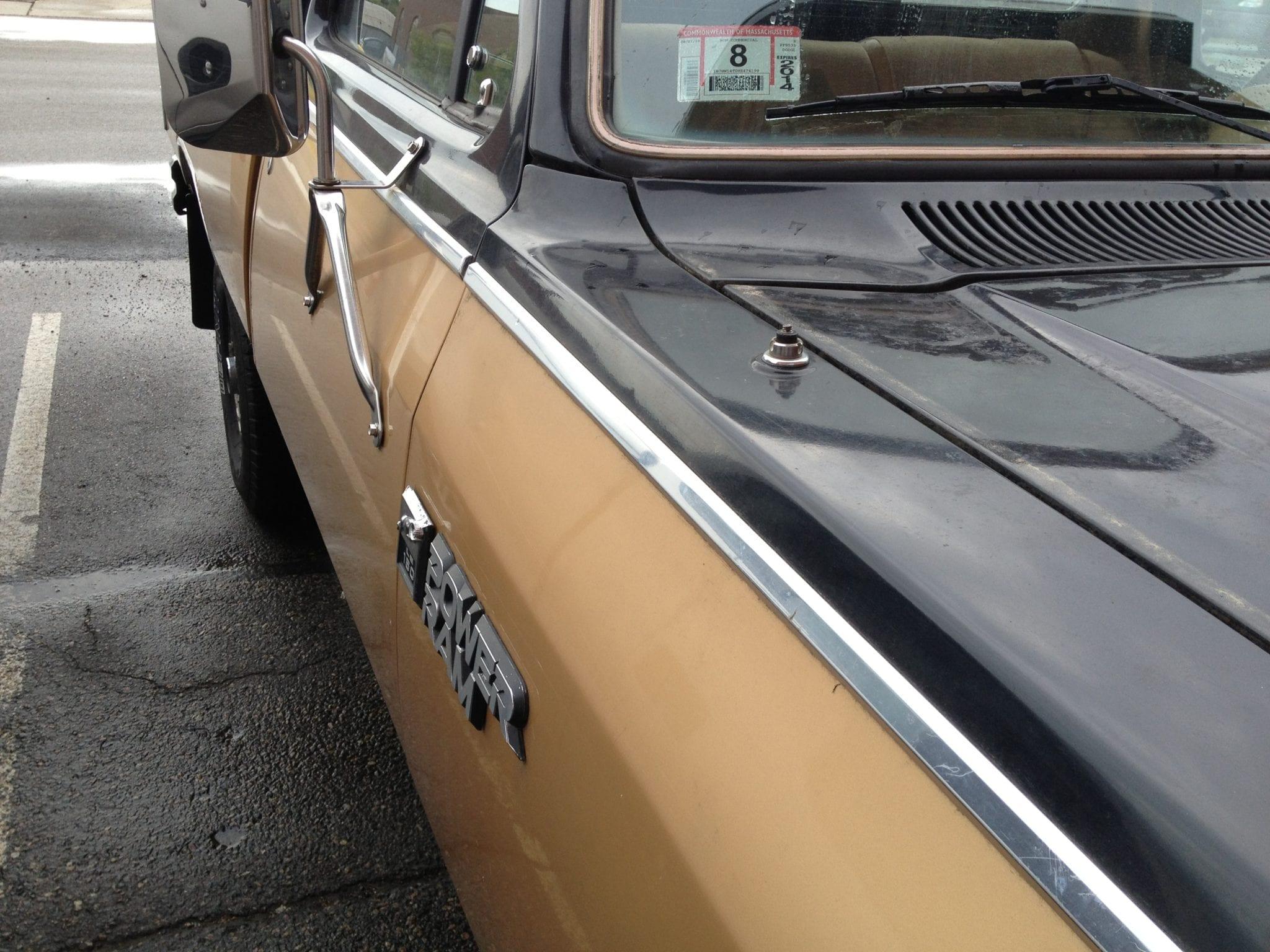 Dodge W150 broken antenna
