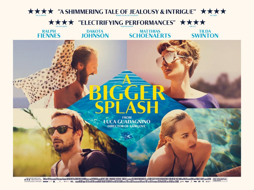 Ralph fiennes and tilda swinton talk about a bigger for A bigger splash movie
